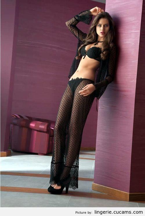 Lingerie Eyed Black by lingerie.cucams.com