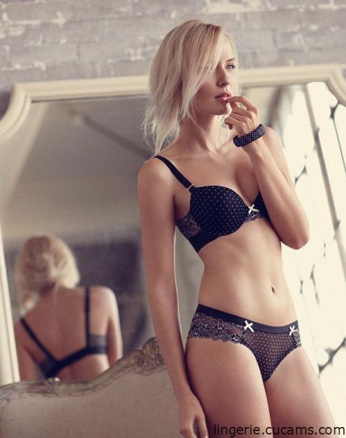 Lingerie Interracial Model by lingerie.cucams.com