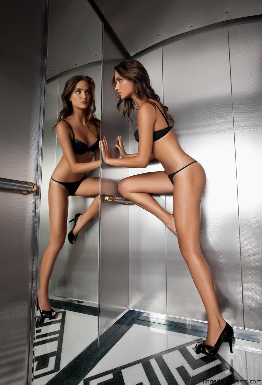 Lingerie Tanned Coed by lingerie.cucams.com